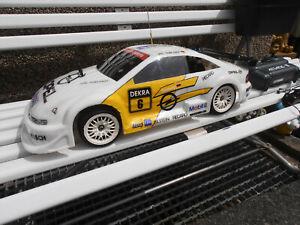 RC Verbrenner Opel Calibra DTM Reuter Glattbahner 1:10 mit Zubehör