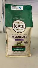 NUTRO WHOLESOME ESSENTIALS Natural Adult Dry Dog Food Small Bites Lamb & Rice