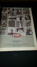 Emf Cha Cha Cha Rare Original U.K. Promo Poster Ad Framed!