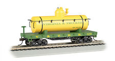 Virginia & Truckee Railroad Ho-Scale Olde Tyme Tank Car- Bachmann-Free Shipping!