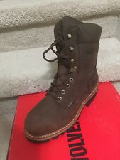 Wolverine Nantucket 8 Inch Waterproof Insulated Logger Boot W10282 choose size