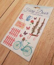 Fairy Door Wall Sticker Miniature Tiny Small Garden Pixie Tinkerbell Accessories