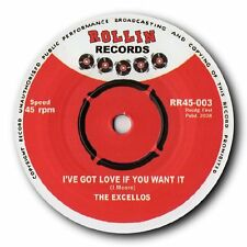 "THE EXCELLOS - ""I GOT LOVE IF YOU WANT IT"" BLUES BOPPER SUPREME - HEAR IT!"
