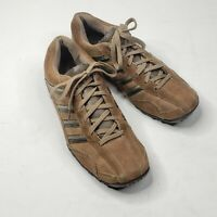 Skechers Men's Brown Suede Casual Sneakers Shoes Lace Up Low Top Size 10