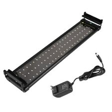 LED Aquarium Light Bar Fish Tank Lighting ZJL-60A 11w 50cm 72 LEDS Power Supply