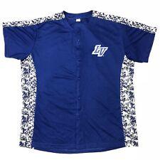 Las Vegas Area 51s MiLB Baseball Digital Camouflage Camo Jersey Mens Size XL