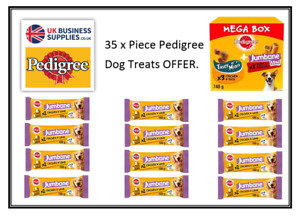 Pedigree Multi Pack Treat Offer x 35 Treats Jumbone,Tasty Mini & Jumbone Mini
