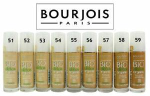 Bourjois Bio Detox Organic Foundation Choose your Shade