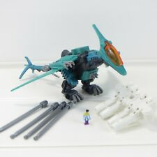 """Raynos w/ Pilot - Zoids - 2002 Tomy Hasbro 5"""" Action Figure - Near Complete"""