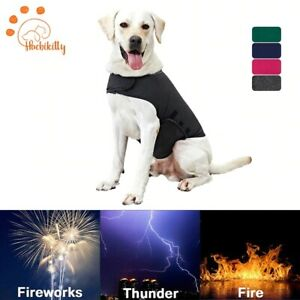 Dog Anxiety Wrap Vest Pet Calming Jacket Reflective Thunder Cotton Shirt For Dog