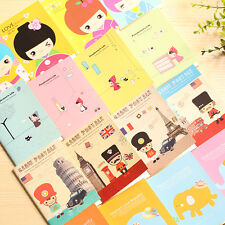 5PC Portable Mini Notepad Handy Pocket Memo Small cute color Notebook Stationery