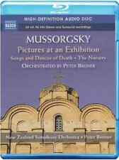 Mussorgsky: Pictures at an Exhibition Blu-ray / Audio NEW