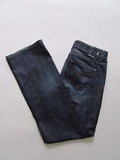 ESPRIT Denim 94107 Blue Cotton Mid Rise Waist Boot Cut Jeans Sz 29/32