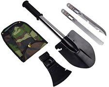 Survival Emergency Camping Hiking Knife Shovel Axe Saw Gear Kit Tools JL-055 CGA