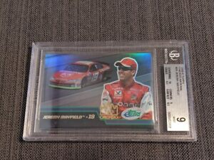 Jeremy Mayfield NASCAR Racing eTopps Trading Card Graded 1 of 1! RARE Chicago