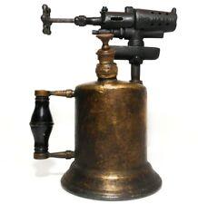 VINT 1920 BRASS & CAST IRON BLOW TORCH CLAYTON & LAMBERT MFG CO DETROIT MI