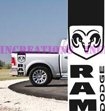 Hemi Dodge Ram Rear Bed Stripes Truck Decals Mopar Stickers Set of 2 Racing 154a