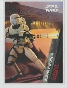 Star Wars The Force Awakens Series 1 First Order Rises Trading Card FO-4