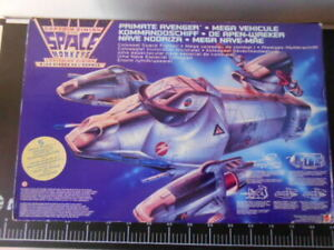 🎌 BLUEBIRD CAPTIAN SIMIAN SPACE MONKEYS Mega Veicolo Nave Mattel CRAFT Rare 🎌