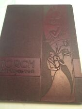 "1937 Fullerton Junior College - Fullerton California Yearbook - ""TORCH"""
