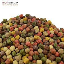KOIFUTTER 5 kg *10 Sorten Top Mix* 6mm Spirulina,Astax,Paprika / Fischfutter