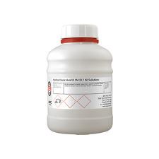 Ácido clorhídrico 0,1 M (0,1 N) volumétricos solución 500ml