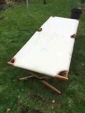 JSF British Army Canvas Folding Camp Bed BIGSA Safari Hounsfield