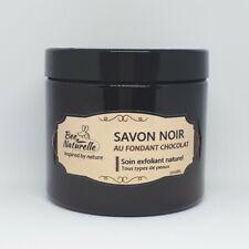SAVON NOIR AU FONDANT CHOCOLAT (200ml) - 100% NATURELLE - BEE NATURELLE