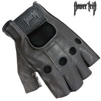 Joe Rocket Graphite Gel Fingerless Motorcycle Gloves Black Mens All sizes