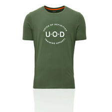Union Of Definition Mens Legend T Shirt Tee Top Green Sports Gym Breathable