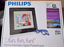 Philips Home Essentials Digital Photo Frame 7 inch LCD Panel 1000 Picture Frame