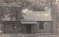 D14/ New Ulm St Peter Minnesota Mn RPPC Postcard c1919 Homecoming Cabin Nicollet