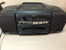 Aiwa 1995 CSD SR515 stereo cassette CD player Boombox