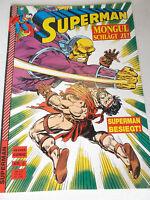 SUPERMAN # 5 Mongul schlägt zu ( Hethke 1989 Heft im Großformat )