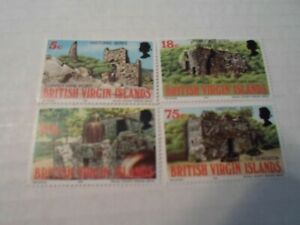 Virgin Islands complete set SC#s 305-308 MNH