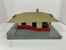 AMERICAN FLYER Mystic Station - Tinplate Building - 1956 Post-War Model