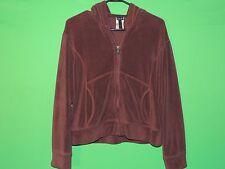 Patagonia Women's Size M Medium Brown Full Zip Hooded Long Slv Sweatshirt