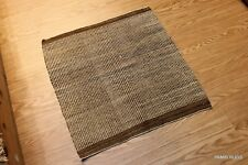 Antique Authentic Native America Indian Handmade diagonal twill saddle blanket