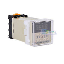 24~240V DH48S-2Z Power On Time Delay Relay Timer Relay 0.01S-99H99M AC to DC 5A