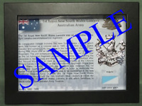 1st Royal New South Wales Lancers  (1 RNSWL) Australian Army