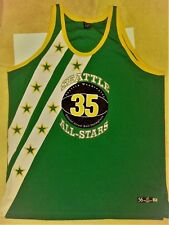 Seattle WA All Stars Official Street Ball Champions Jersey No 35 Green Size 56