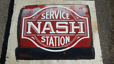 vintage nash genuine parts service sign hand painted custom man cave wall art