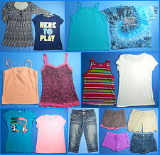 15 Piece Lot of Nice Clean Girls Size 14 Spring Summer Everyday Clothes ss249