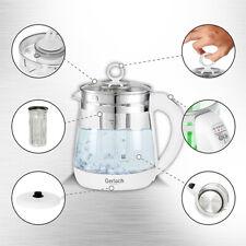 Wasserkocher mit temperaturwahl und Teesieb 1,5 L von Gerlach Germany