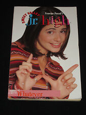 twy* SALE: FRANCINE PASCAL`S SWEET VALLEY JR. HIGH ~ WHATEVER #17      tp