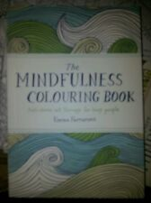 The Mindfulness Colouring Book Anti Stress Art Therapy Handbag Size Brand New