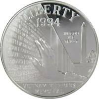 1994-P $1 Vietnam Veterans Memorial Commemorative Silver Dollar Choice Proof