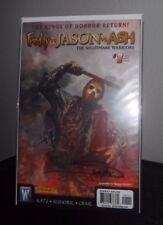 FREDDY VS JASON VS ASH #1 NIGHTMARE WARRIORS SIGNED ARTHUR SUYDAM COA Jason