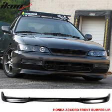 96-97 Honda Accord DX T-R Urethane Front Bumper Lip Spoiler Body Kit 96 97