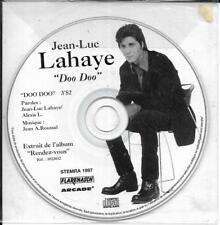 CD PICTURE COLLECTOR 1 TITRE JEAN LUC LAHAYE DOO DOO DE 1997 TBE